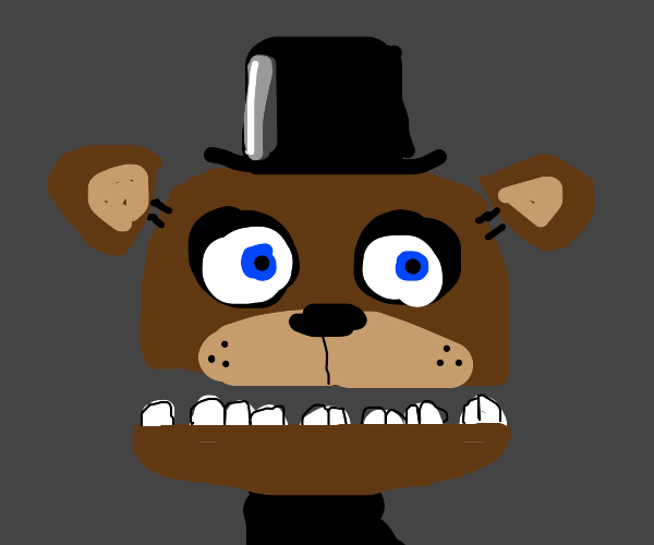 FNAF, that one creep bear( I forgot his name)
