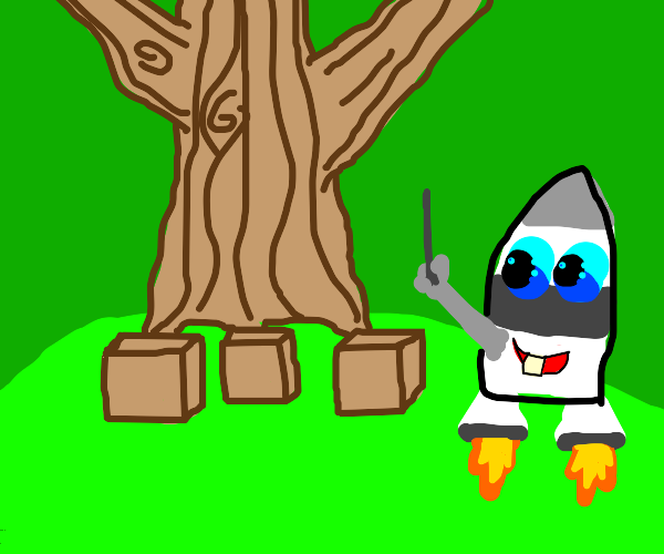 Baby rocket teaches you Square roots
