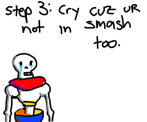 Step 2: Main Sans in Smash
