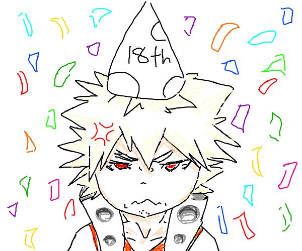 bakugos 18th birthday