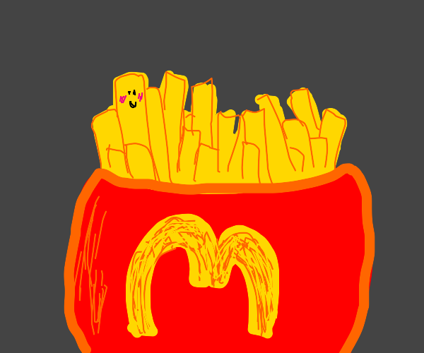 Happy French fry