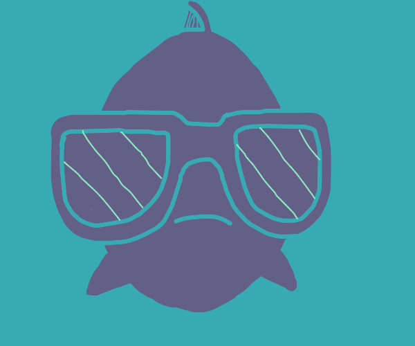 fish in awesome sunglasses