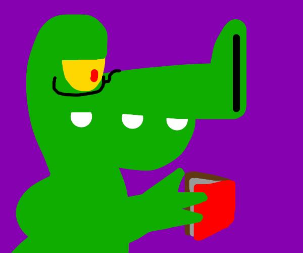 reading alligator