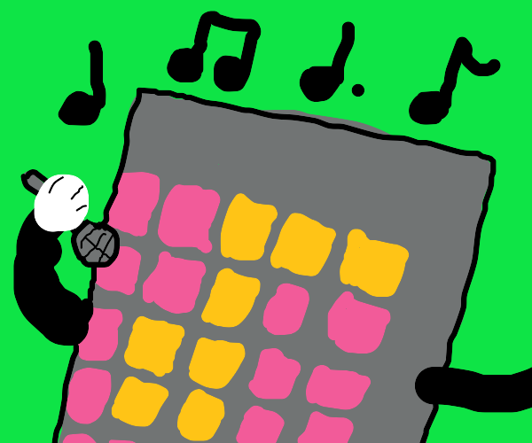 singing robot