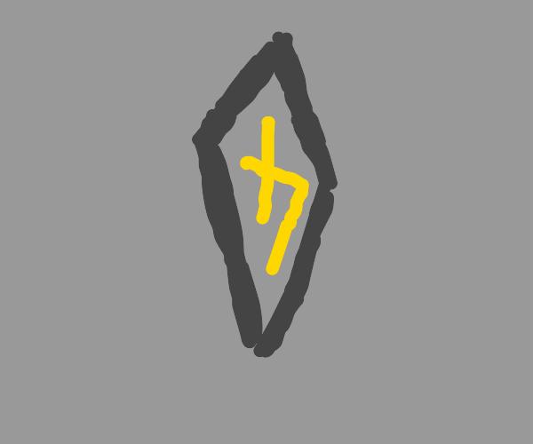 a single ancient rune