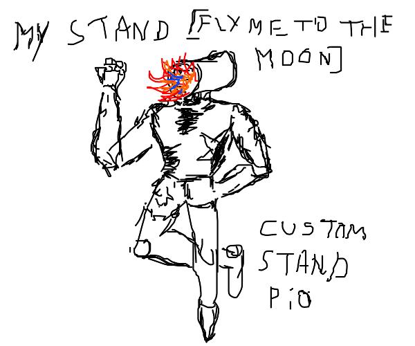 custom stand PIO