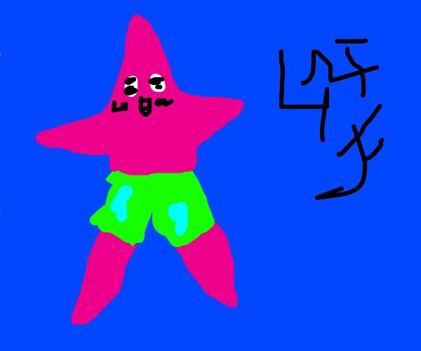 sponge bob anime Patrick star
