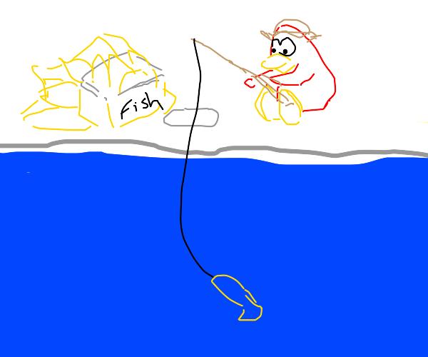 Club Penguin Fishing Game!