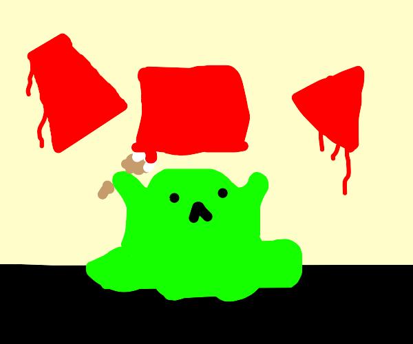 blob paints shapes
