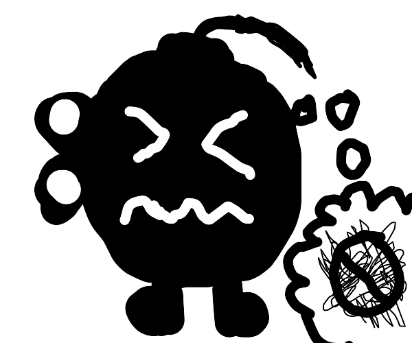 Bob-omb can't blow up