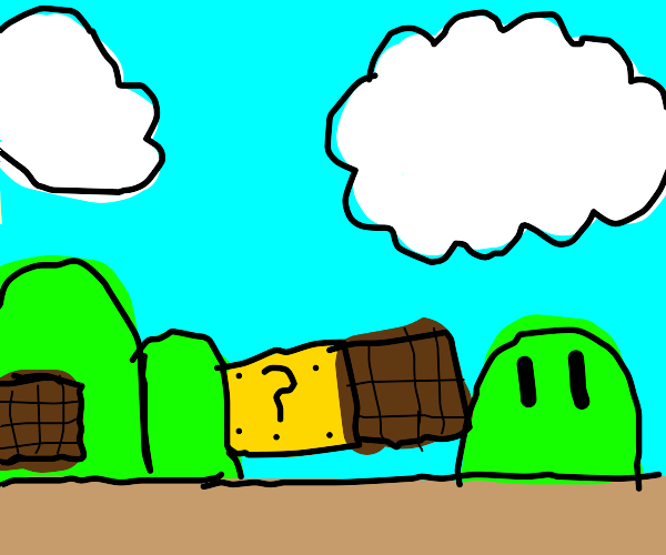 a Mario level