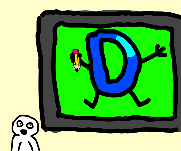 Looking at drawception on a large screen