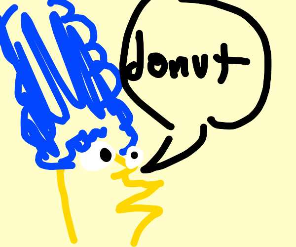 Simpson woman demands donuts
