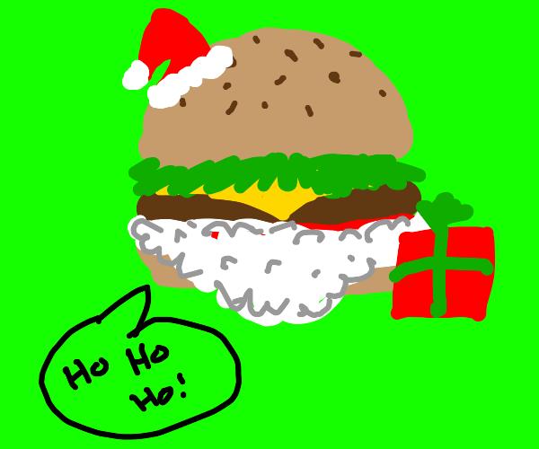Chraistmas Burger !
