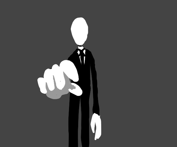 Slenderman reaches for you