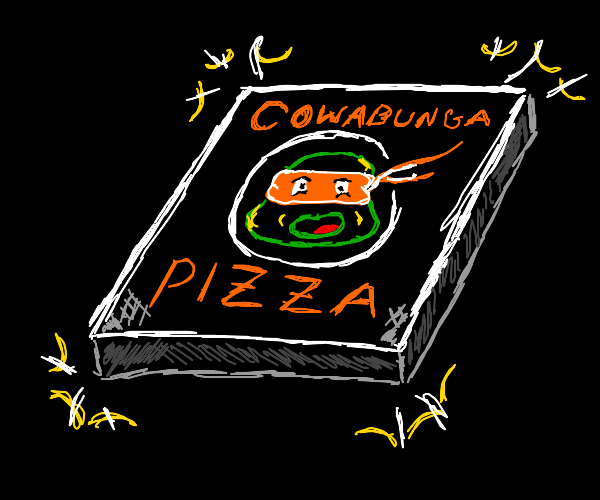 Ninja Turtle Certified Pizza