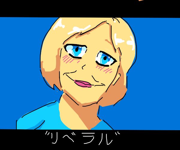 Anime hillary clinton