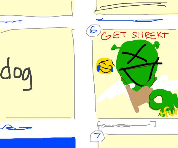 Shrek derail