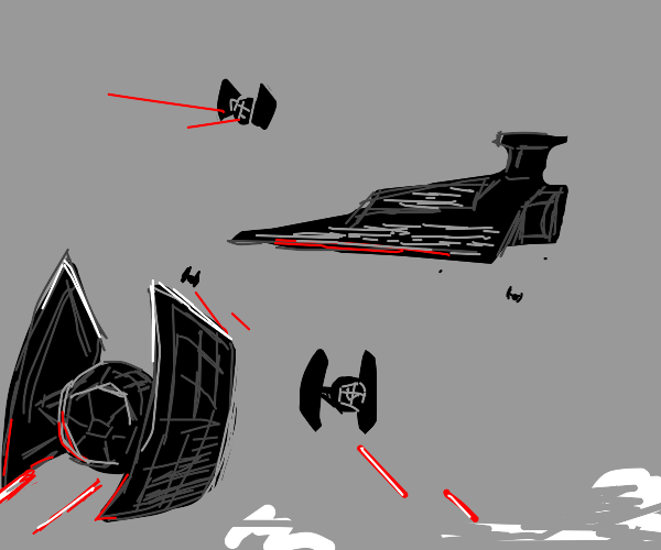 Star Wars pew pew flyers