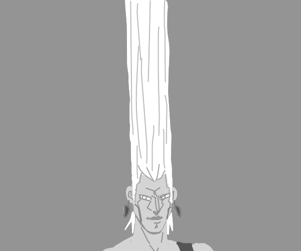 Polnareff's infinite hair