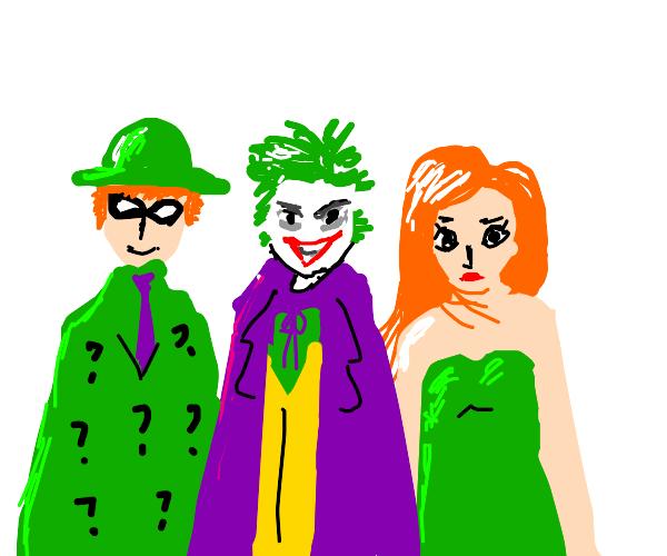 joker and friends