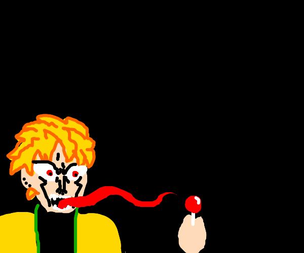 Dio lick lollipop