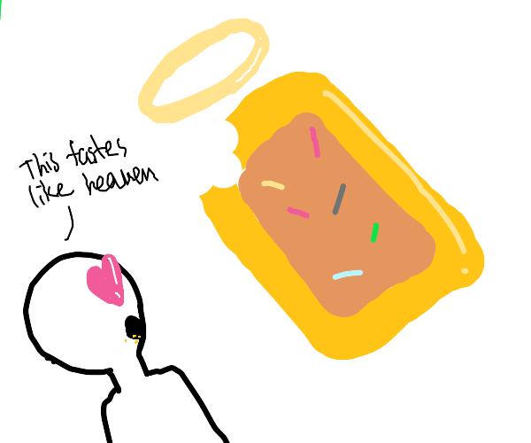 halo flavored poptart