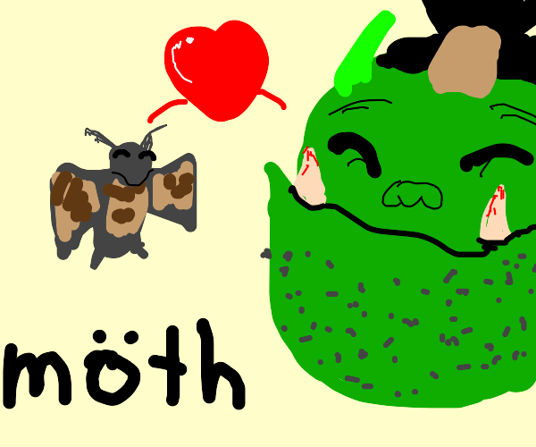Moth loves Orc