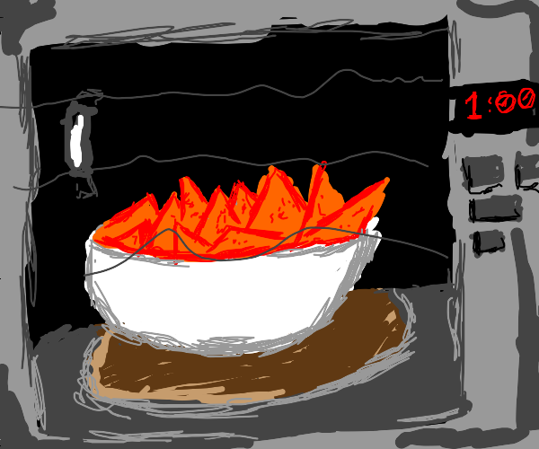 cooking doritos in microwave