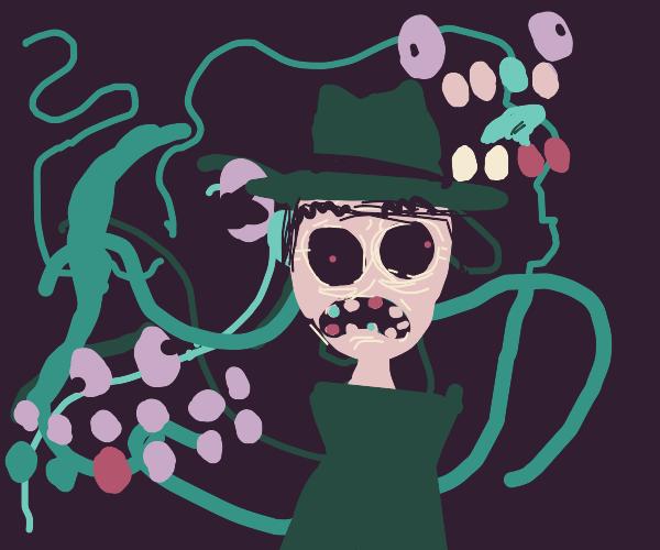 Detective on a acid trip