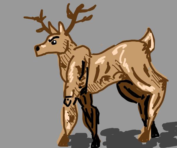 Reindeer Just Took Steroids