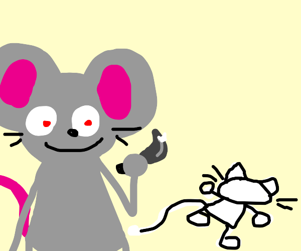 mouse commit murder