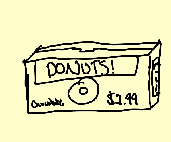 Doughnut Box Cover