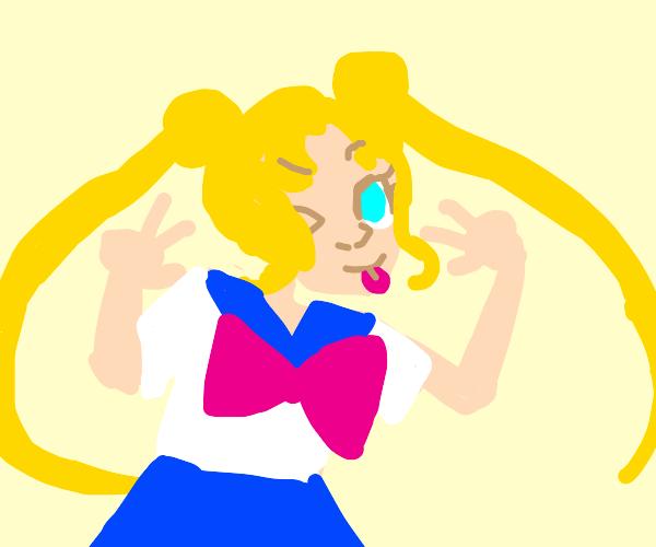 Magical anime girl Skeeter Valentine