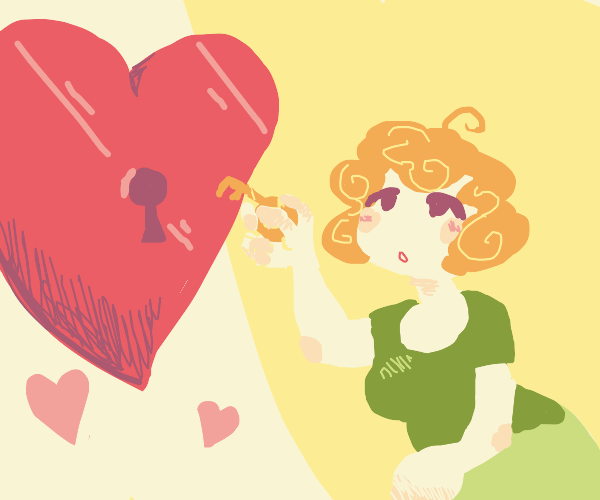 lady finds key to the heart
