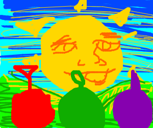Teletubbies sun