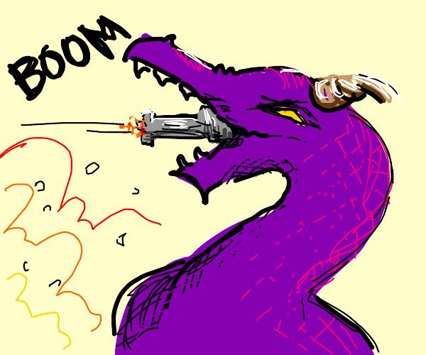 Dragonhead cannon