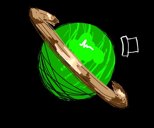 Green Mr.Saturn