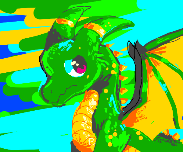 Little glum dragon