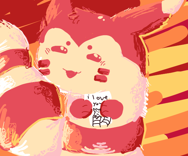 Furret loves you