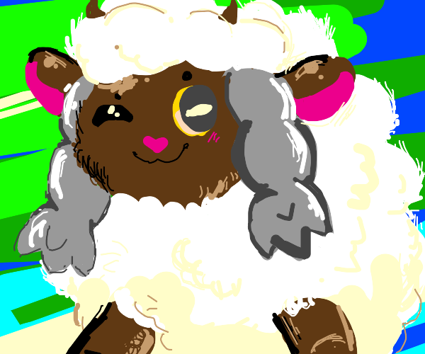 Very fluffy Wooloo
