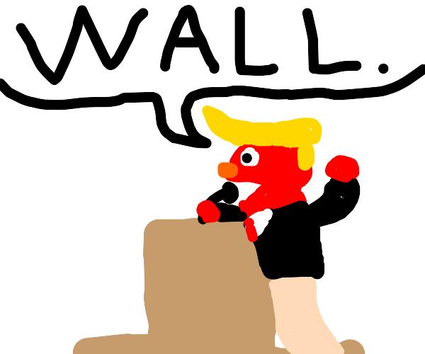 Donald Trump Elmo