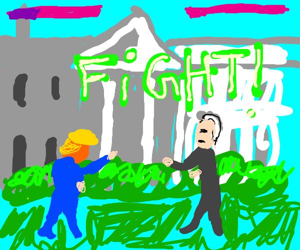 Trump VS Biden, Mortal Kombat style