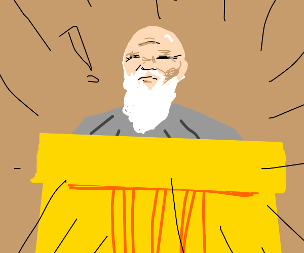bald judge with white beard