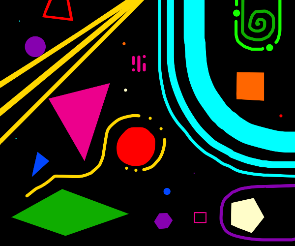 So many Shapes and Colors, oh my!