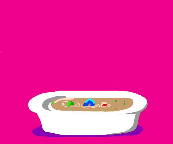 Waiter, there's a drawception in my soup