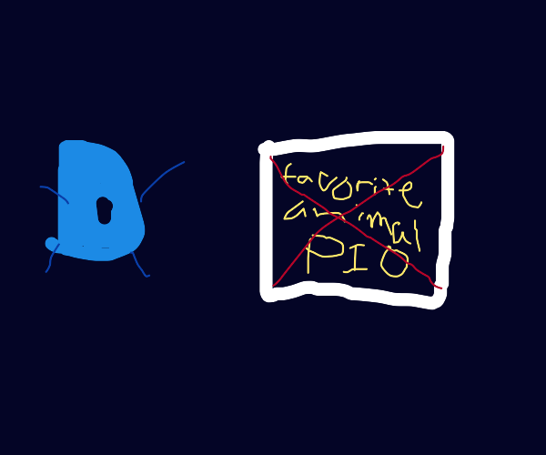 Drawception D banning a PIO panel
