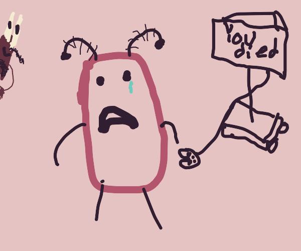 Sad gamer plankton
