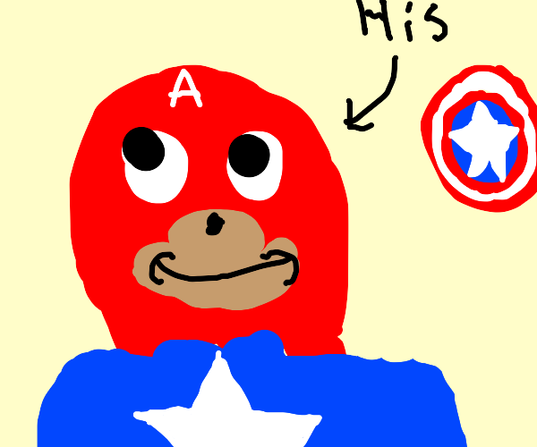 knuckles but captain america