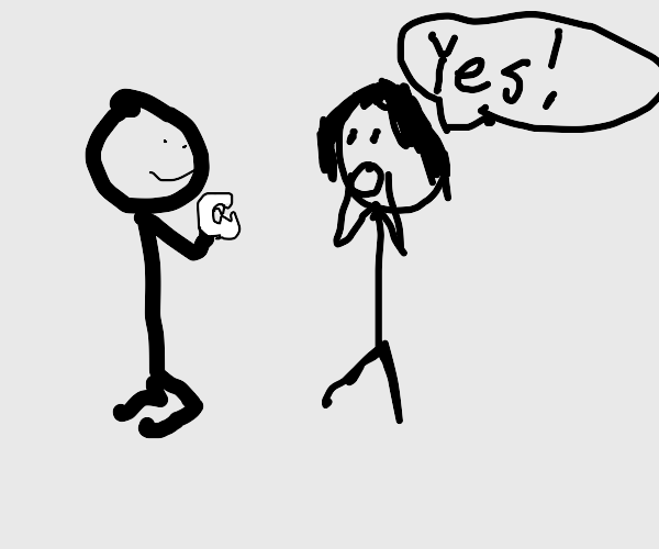 Proposal with teeth